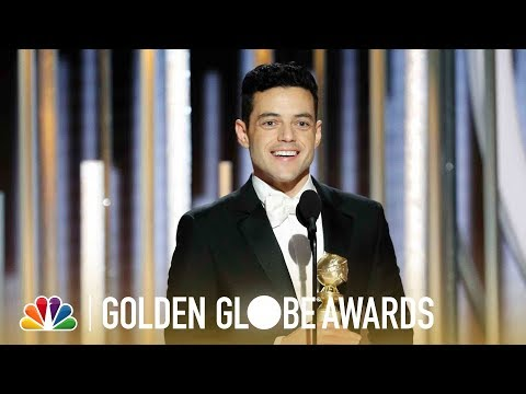 Rami Malek Wins Best Actor, Drama - 2019 Golden Globes (Highlight)