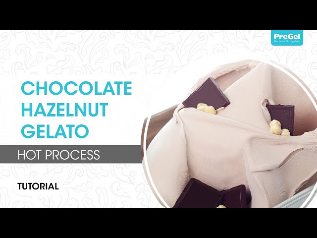 Hot Process Chocolate Hazelnut Gelato