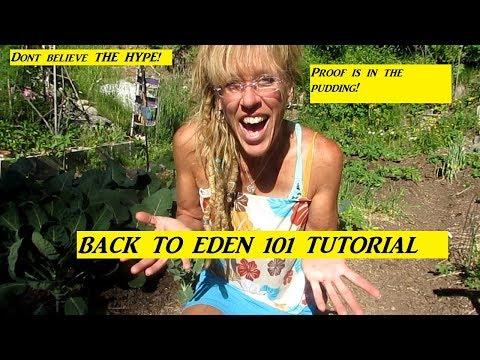 Back To Eden Gardening: EASY 101 Tutorial DONT FOLLOW ANYTHING ELSE!!