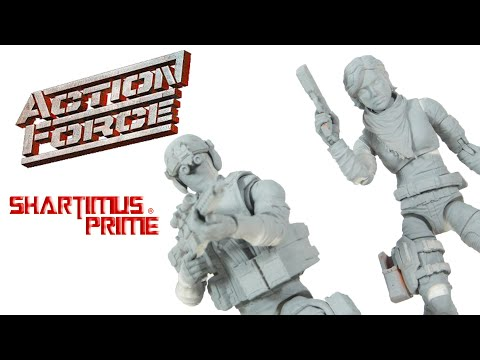 Action Force Condor and Eclipse 6 Inch Valaverse Kickstarter Resin Prototype Figure Review