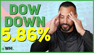 Stock Market Down ANOTHER 5.86% (financial planner shares BIGGEST mistake to avoid)