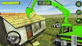 Permainan Mobil Mobilan Beko Keruk Konstruksi Bangunan - Android Gameplay