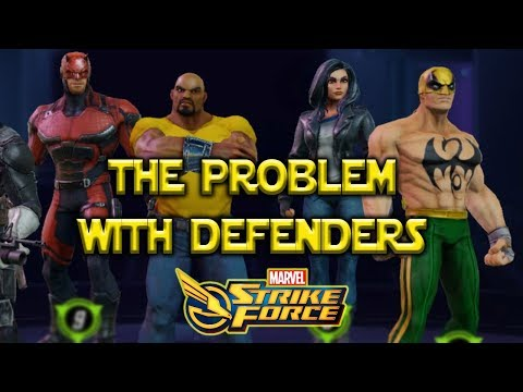 Too Much Team Synergy?  The Problem With Defenders And SHIELD - Marvel Strike Force - MSF