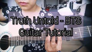 Download lagu Truth Untold - BTS: Guitar Tutorial (Beginner) || 전하지 못한 진심- 방탄소년단: 기타 레슨