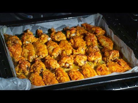 la-recette-pour-cuire-vos-ailes-de-poulet!-un-ingrédient-secret-changera-le-goût! -savoureux.tv