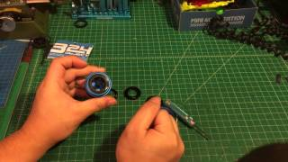 【ミニ四駆】Tamiya Mini 4wd 324 object wheel piercer review and instruction