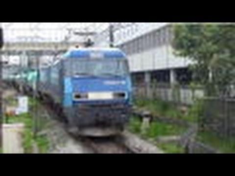 【JR貨物】EH200-10 Blue Thunder 中央本線日野駅で撮影 Japan Freight Railway Company