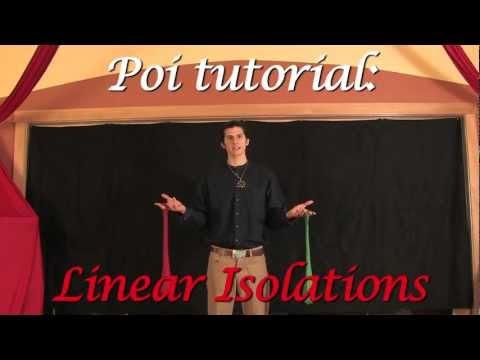 Zan Teaches Poi: Linear Isolations