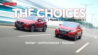 Komparasi  Honda HR-V vs Mazda CX-3 | CARVAGANZA