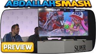 Super Smash Bros Ultimate: Inkling Vs Ridley! [Feat. Andre @BlackNerd]