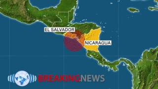 Magnitude 7 Offshore Quake Shakes Central America as Hurricane Hits