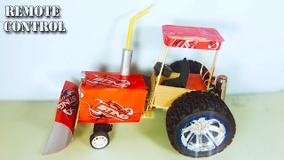 DIY Tractor How to make a RC Tractor at home