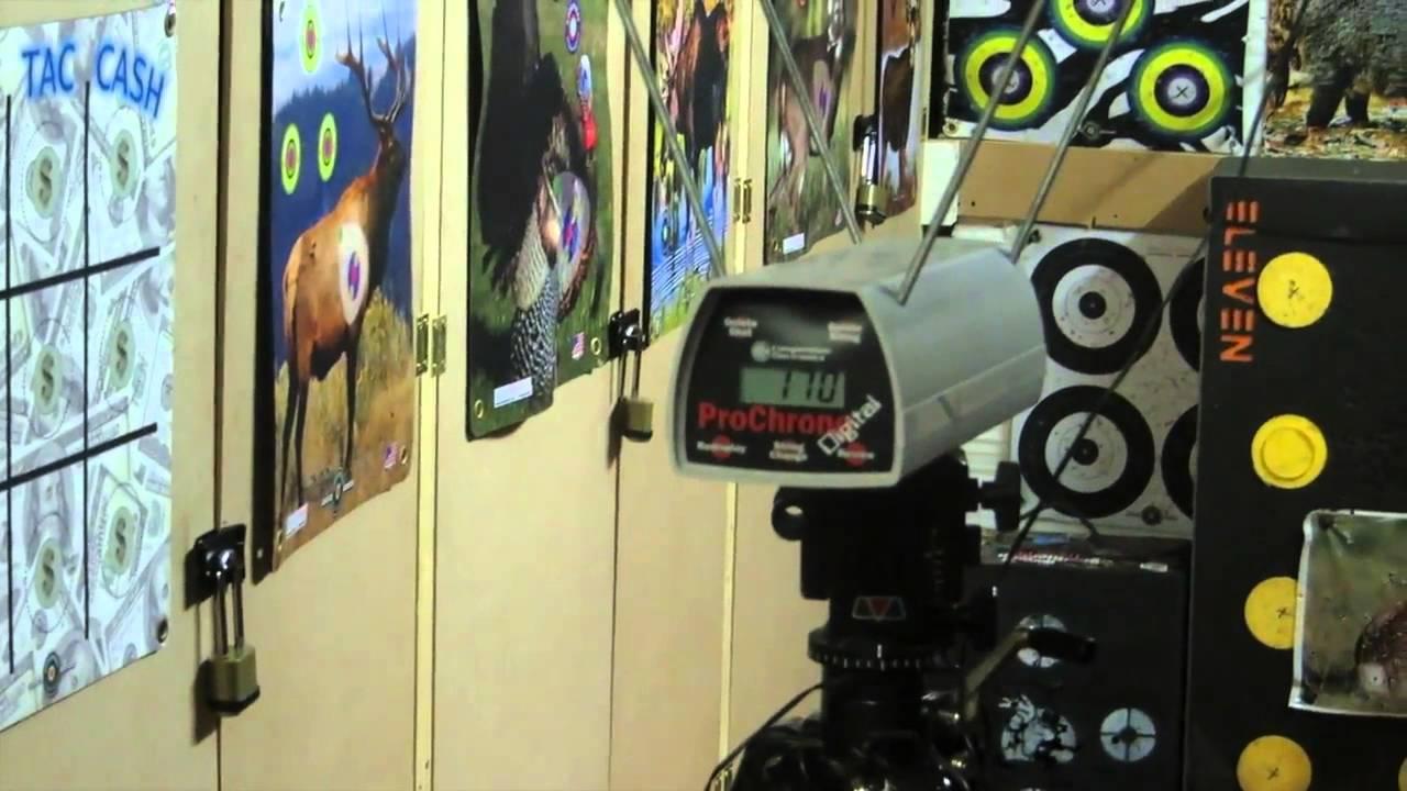 Sky Archery - Skyfire ILF Recurve Take Down Bow - Arrow Speed Chrono