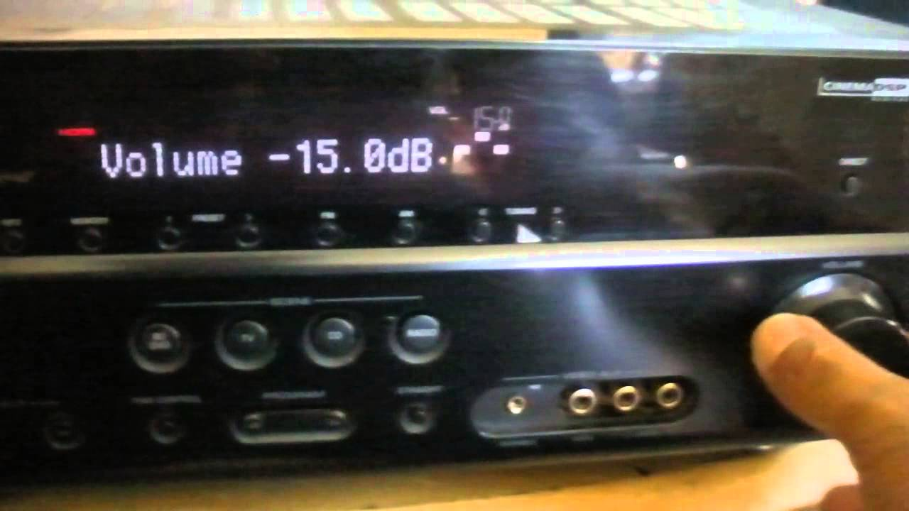 Yamaha Htr 5063 Hdmi Receiver Youtube