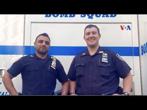 Cảnh sát viên gốc Afghanistan được ca ngợi như anh hùng tại New York