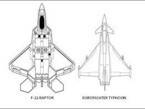 F 22 Vs Eurofighter