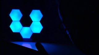 LIFESMART LS160 - NANOLEAF AURORA LED in MINIATURA! CES 2019 WINNER! - Recensione ITA