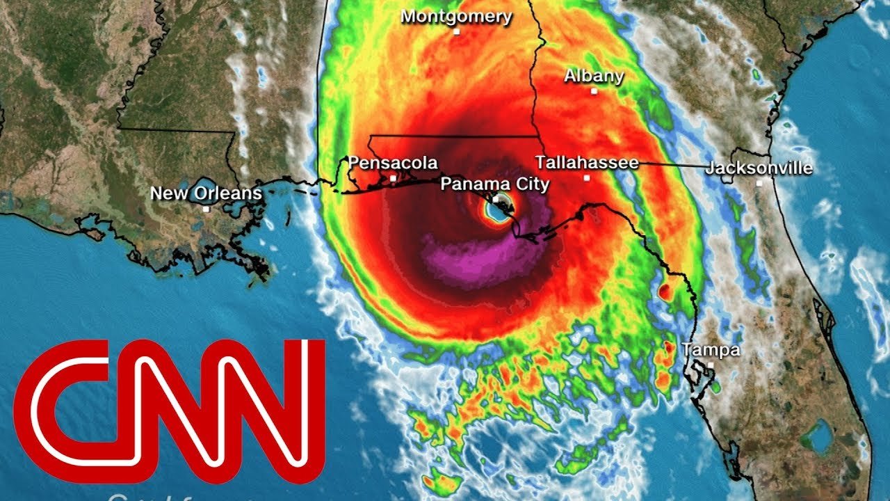 Hurricane Michael makes landfall with 155mph winds