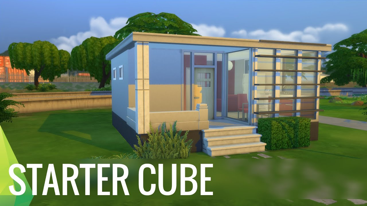 The Sims 4 Building the Starter Cube YouTube