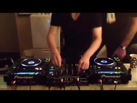 Skrillex Backstage Mixing