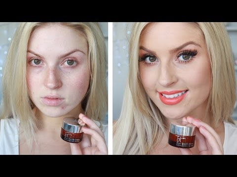 First Impression & Review ♡ It Cosmetics Bye Bye Redness - YouTube