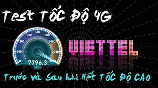 Tốc độ 4G VIETTEL khi HẾT TỐC ĐỘ CAO 🤔 Mimax 4G khi bị bóp băng thông 💔 Test Băng Thông 4G💣