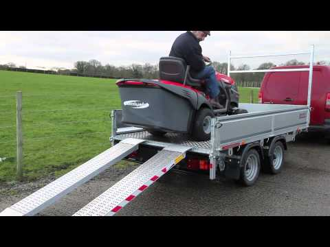 The Ramp Company Heavy Duty Quad & Lawnmower Non Folding Ramps