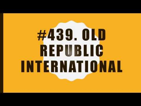 #439 Old Republic International|10 Facts|Fortune 500|Top companies in United States