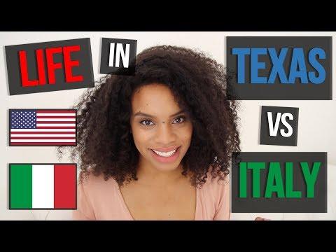 LIFE IN TEXAS (VS. ITALY-ISH) | LA VITA IN TEXAS [ENG CC]