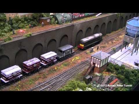 Peterborough Model Railway Exhibition 2012 HD