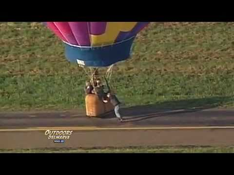 Outdoors Delmarva: Delmarva Balloon Ride