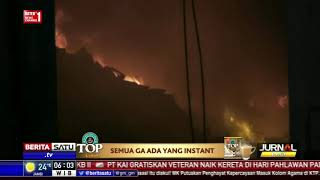 Diduga Korsleting, Gudang Perabotan Di Kosambi Ludes Terbakar