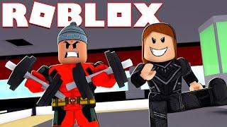 DEADPOOL E PANTERA NEGRA | Roblox Superheld Tycoon