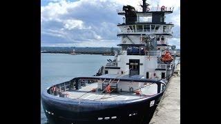 Salvage Tug Abeille Bourbon moored in Brest Harbour, 07 09 13