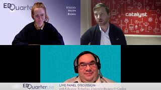 Catalyst and EdQuarter webinar - a look into the future of digital higher education