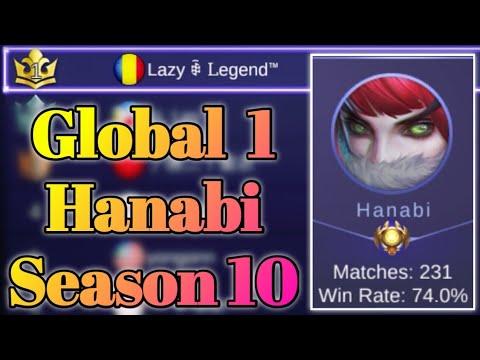 Remember Global 1 Hanabi? 🤔 Best Build & Emblem Set | Mobile Legends: Bang Bang thumbnail