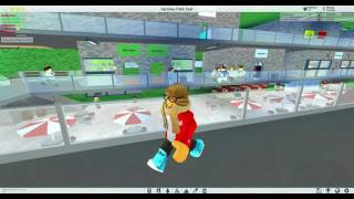 ROBLOX THEME PARK TYCOON 2 HERSHEY PARK EAST MALL TOUR