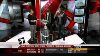 Kerry Carter & Dahrran Diedrick on TSN - Off The Record with Michael Landsberg