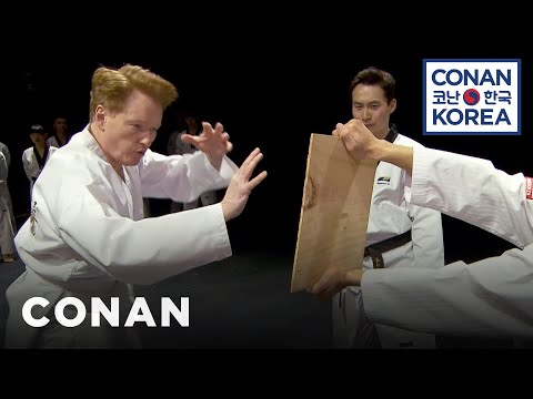 Conan Becomes A Tae Kwon Do Master