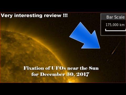 nouvel ordre mondial | Fixation of UFOs near the Sun for December 30, 2017