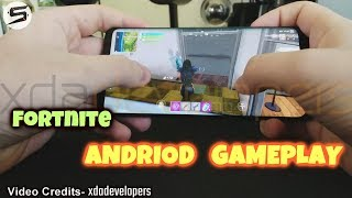 Fortnite Andriod Gameplay - Galaxy Note 9 by XDA