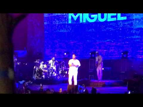 Sure Thing - Miguel Wild Heart Tour Hawaii concert 2016