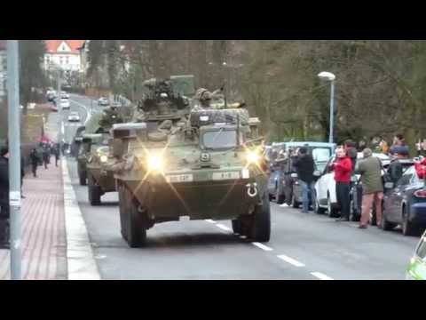 American US Army in Liberec the Czech Republik