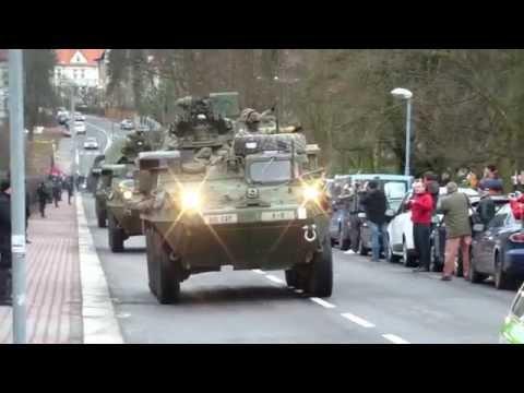 American US Army in Liberec the Czech Republik