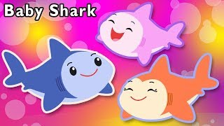 Baby Shark and More | Daddy Shark Mommy Shark | Baby Songs from Mother Goose Club!