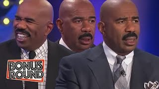 BEST ANSWERS AND MOMENTS With Steve Harvey On Family Feud USA!
