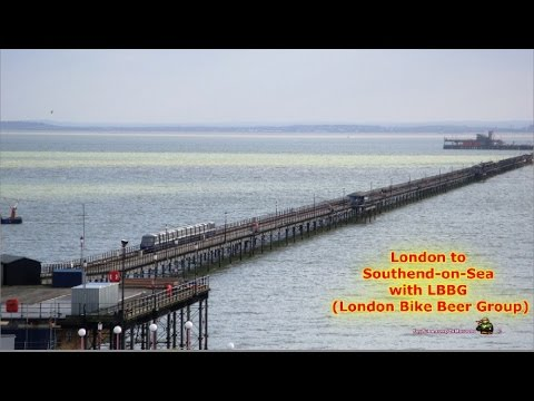 London to Southend-on-Sea by Bike with London Bike Beer Group