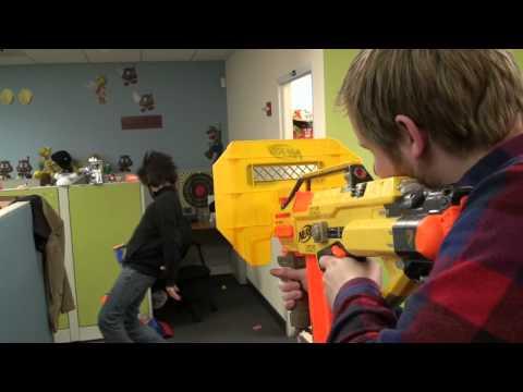 Nerf Stunts Nerf N Strike Elite Mega Thunderbow Ft