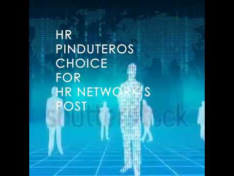7th #HumanRights Pinduteros Choice for HR NETWORKS POST