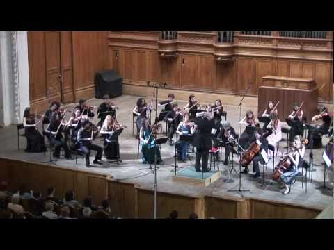 Elgar Introduction and Allegro, Op. 47 New Russian Quartet, Eduard Grach, Moscovia orchestra